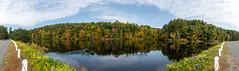 ashleyreservoir2018-140 (gtxjimmy) Tags: ashleyreservoir nikond7500 nikon d7500 newengland holyoke massachusetts autumn fall watersupply reflections reflection panorama
