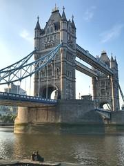 Tower Bridge, London, England (PaChambers) Tags: bridge towerbridge river thames southwark 2018 england historic summer city beautiful europe uk cityoflondon iphone london britain gb urban water capital
