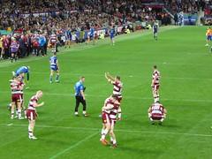 Wigan 12 - 4 Warrington (cn174) Tags: wigan warriors wiganwarriors wiganrlfc rugby rugbyleague superleague grandfinal oldtrafford rl warrington shaunwane champions