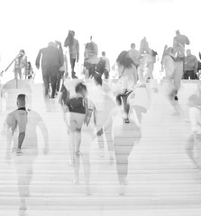 Ascending (Stephanie Cassiday-Krueger) Tags: multipleexposure icm blur streetphotography