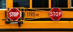 Extended stop arm (jimross90) Tags: schoolbus extendedstoparm icce waynecounty westvirginia wv