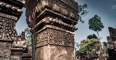 Banteay Srei Temple, Angkor, Cambodia-24a