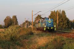 SM42-873 (MarSt44) Tags: pkp cargo 6d sm42 sm42873 873 stonka diesel power poland polska train railway dankowice wieczór