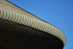 Lisbon - MEO Arena #3 (nagyistvan8) Tags: nagyistván lisszabon lisbon lisboa portugália portugal portuguese nagyistvan8 ufo flyingsaucer repülőcsészealj extreme special különleges tárgy object épület építészet architect architecture színek colors szürke fekete kék blue black grey absztrakt abstract ötlet idea ngc building alakzat alak form forma formation szerkezet struktúra structure texture construction tetőfedő roof tetőszerkezet roofing surface pattern tile háttérkép background minimal minta sample model részlet detail csíkos csík stripe striped vonalak meoarena égbolt sky utazás traveling 2017 nikon