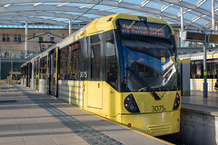 Manchester Metrolink 3075 (Mike McNiven) Tags: manchester metrolink tram lrv metro lightrail victoria manchestervictoria marketstreet manchesterairport airport