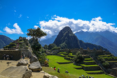 "The ""Sacred square"" / ""Священная площадь"" (Vladimir Zhdanov) Tags: travel peru andes machupicchu mountains mountainside ancient building ruins architecture sky cloud landscape field grass forest huaynapicchu tree"