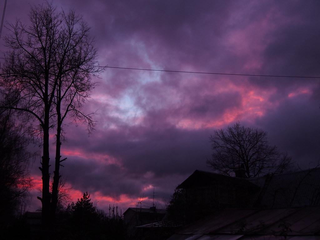 фото: Закат в Павловске