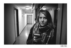 College girl Karin (Aljaž Anžič Tuna) Tags: girl student college dorm basement p photo365 project365 portrait portraitunlimited people onephotoaday onceaday 365 35mm 365challenge 365project nikkor nice nikon nikon105mmf28 nikond700 105mmf28 f28 dailyphoto day d700 bw blackandwhite black white blackwhite beautiful