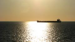 Eisho.Waiting_for_pilot (ЕгорЖуравлёв) Tags: gulfofriga roadstead september 2018 evening canon vessel ship eisho