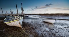 Late Light at Morston (andybam1955) Tags: landscape morston nationaltrust coastal morstonquay sky northnorfolk rural boats norfolk sea