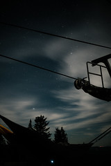 September2018-74 (Ben M Collins) Tags: astrophotography stars camping star photography milkyway hammocks skiing ski lift long exposure longexposure