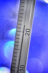 Macro Mondays - Measurement (frankvanroon) Tags: macromondays measurement temperature macro bokeh blue sigma105mm
