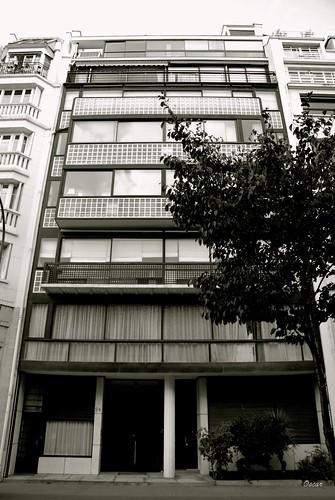 L'immeuble Molitor, réalisé par Le Corbusier et Pierre Jeanneret