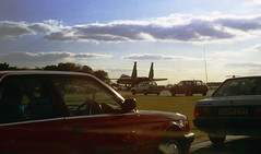 'Where Eagles Dare' (crusader752) Tags: rafmildenhall airfete 1997 f15 eagle cars taxiway usaf usafe