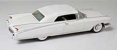 1960 Cadillac Eldorado Biarritz (Jeffcad) Tags: cadillac car 1960 eldorado biarritz 125 scale model models resin fins kit