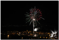 Fireworks (UfoSp@in ஐ★Freelance Photo★ஐ) Tags: fireworks guadarrama sky spain sierradeguadarrama sierrademadrid fuegosartificiales nikon night nubes neon canoneos5dmarkii colors clouds canoneosm50 24105mm firework streetlife skyline view wind walking longexposure exposure españa explore ef espagne reflections travel treasure topaz texturas textura traveling textures years ufospin usm instagram iso infinity ilc obturador photography photoshop photo paint 2018 fiestas polvora stone fire patrón orgánico brillante abstracto bulb exposicion zoom infinito fiestasguadarrama