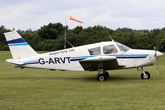 G-ARVT (GH@BHD) Tags: garvt piper pa28 pa28160 cherokee cherokeewarrior glasgowflyingclub aeroexpo aeroexpouk aviation aircraft bookerairfield wycombeairpark highwycombe