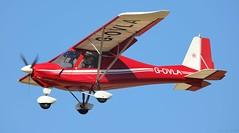 Ikarus C42 G-OVLA Lee on Solent Airfield 2018 (SupaSmokey) Tags: ikarus c42 govla lee solent airfield 2018