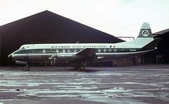 EI-AOG. Aer Lingus Vickers V.803 Viscount (Ayronautica) Tags: 1966 eiaog vickersv803viscount aerlingus turboprop propliner airliner egpk prestwick pik scanned aviation ayronautica