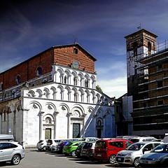 Lucca, Chiesa di Santa Maria Bianca (pom'.) Tags: panasonicdmctz101 april 2018 lucca toscana tuscany italia italy europeanunion architecture 12thcentury santamariabianca santamariaforisportam 200 100 300