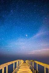 Ballen, Samsø (Jess P.C.) Tags: slowshutter island jetty denmark samsø stars longexposure night