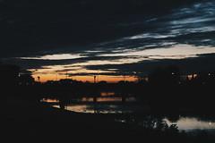 Sunset (gius_laino) Tags: sunset tramonto pisa lungarno reflections arno fiume sky clouds skyline