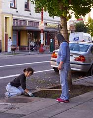 Chinatown Gardener Portland Oregon (coljacksg) Tags:
