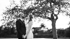 DSC_8413-(B&W)- (AJ Charlton Photography) Tags: wedding bride groom bridesmaids groomsmen aj charlton ajc d750 nikon uk photographer cambridge 2018 september love couple marriage married rings