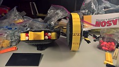 SHIPtember 2018 WIP 4b (DJ Quest) Tags: lego blacktron space ship moc wip shiptember 2018