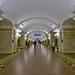 Pushkinskaya metro stop, Saint Petersburg, 20180920