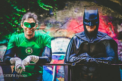 Shooting Seb & Dan 2018a-1 (Flashouilleur Fou) Tags: batman gotham brucewayne bruce wayne wayneenterprises dc comics dccomics warnerbros warner bros green lantern greenlantern frenchcosplayer frenchcosplayeur frenchcosplay cosplayfrance cosplay deguisement flashouilleurfou