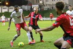 Lewes 2 Kings Langley 1 FAC replay 26 09 2018-476.jpg (jamesboyes) Tags: lewes kingslangley football nonleague soccer fussball calcio voetbal amateur facup tackle pitch canon 70d dslr