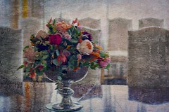 Flowers ... like painting .. 🌸✨ (Julie Greg) Tags: flower flowers leedscastlefestivalofflowers leedscastle festival colours canon texture england table vase