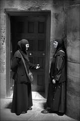 the holy chat (bostankorkulugu) Tags: nuns sisters nun sister chat church middleeast religion christian orthodox holyland israel churchoftheholysepulchre