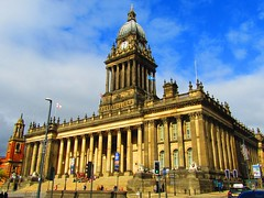 Leeds City Hall West Yorkshire (Gary Chatterton 4 million Views) Tags: leedscitycentre leedscityhall citycentre cityhall westyorkshire building architecture clocktower leeds perfectlight famousbuilding flickr explore photography canonpowershot