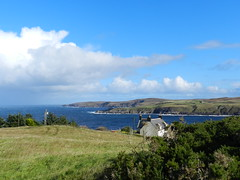 North Coast from Armadale, Sutherland, Sep 2018 (allanmaciver) Tags: armadale north coast scotland green blue contrast clouds weather warm cold wind raw day viewpoint allanmaciver