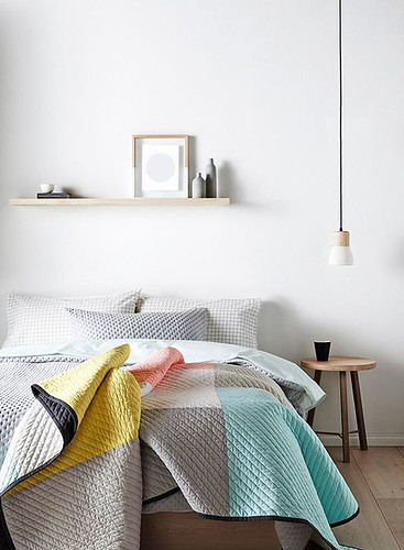 Furniture  - Bedrooms : Soft colors for a warm and cozy bedroom