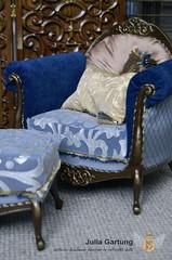 "OOAK Set ""Golden cage"" 1:4 (JuliaGart) Tags: furniture for doll julia gartung scale 14 order ooak pillow numina sybarite kd kingdomdoll sofa screen chair pouf"
