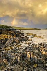 Rainbow at Clifden Eco Beach, Wild Atlantic Way, Connemara, County Galway, Ireland (Anthony Lawlor) Tags: ireland wildatlanticway beach eco clifden rainbow landscape coast coastal water rocks sly clouds sun view amazing sea seaside day photography camping campsite caravan