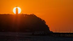 _OLY0103 (dadudawien) Tags: sonnenuntrgang ostsee penf leuchtturm niecorce