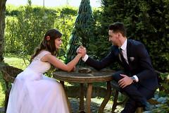 Paula & Daniel (marti.labruna) Tags: wedding weddingday justmarried marriedcouple groom married couple bride gown happiness tenderness love fun brideandgroom