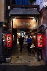 法善寺横丁(Houzenji Yokocho) (Hideki Iba) Tags: alley osaka japan nikon d850 2470 houzenji 法善寺横丁 street night