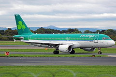 Aer Lingus Airbus A320 EI-GAM (Sam Pedley) Tags: eigam aerlingus a320 airbus egcc manchesterairport man ei204 ei ein rvp runwayvisitorpark stbronabronagh stbrona stbronagh vehicle aircraft airplane airliner jet jetliner civilaviation passengeraircraft