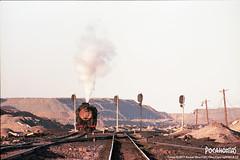 2018/10/4 JS8167 Sandaoling (Pocahontas®) Tags: js8167 steam engine locomotive loco train rail railway railroad steamlocomotive steamengine steamtrain film kodak ektar100 sandaoling