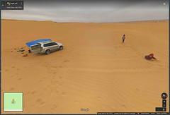 Saudi Arabia (Jer*ry) Tags: desert middleeast sand landscape googlemaps kids playing