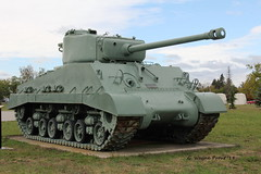 1945 Sherman M4A2(76)W HVSS Medium Tank (Gerald (Wayne) Prout) Tags: 1945shermanm4a276whvssmediumtank shermanm4a276whvssmediumtank 1945 sherman m4a276w hvss medium tank canadianforcesbaseborden cfbborden simcoecounty ontario canada prout geraldwayneprout canon canoneos60d eos 60d digital dslr camera canonlensefs18135mmf3556is lens efs18135mmf3556is photographed photography display armoredvehicle vehicle armored military tanks tracked wwii canadian forces base borden training dnd governmentofcanada simcoe county historical antique old 76mmgun usarmyordnancedepartment royalcanadiandragoons