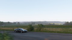 Countryside (alexandriabrangwin) Tags: alexandriabrangwin first life forza horizon 4 england uk wind farm countryside wide open plain driving fast mercedesbenz sl65 amg v12 black car woman road trees grass mountain epic view landscape xboxone