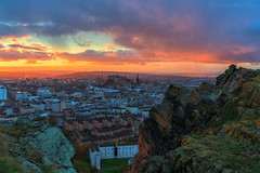 Golden hour over the City of Edinburgh (MilesGrayPhotography (AnimalsBeforeHumans)) Tags: 2470 fe2470mmf4zaoss architecture auldreekie autumn a7rii sonya7rii britain blending city cityscape castle castlerock crags salisburycrags dusk edinburgh europe evening edinburghcastle fe f4 glow golden goldenhour historic historicscotland iconic ilce7rm2 landscape lens landscapephotography nd outdoors oss oldtown photography photo rocks ruins royalmile rays clouds colours scotland scenic sky skyline sunset sunlight sunshine sony sonyilce7rm2 scottish scottishlandscapephotography town twilight uk unitedkingdom unesco village volcano volcanic zeiss rain