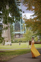 Alexis_StJohns-0011 (Aaron A Baker) Tags: girls oregon women teenagers model portraits cathedral park portland autumn fall yellow dress leafs alexis hoffman