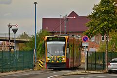 Siemens Combino Duo #202 VBN Nordhausen (3x105Na) Tags: siemens combino duo 202 vbn nordhausen strassenbahn strasenbahn tram tramwaj deutschland germany niemcy